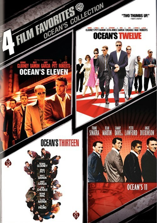4 Film Favorites: Oceans Collection