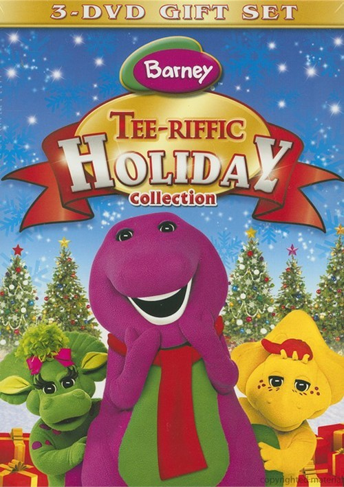 Barney: Tee-riffic Holiday Collection Giftset
