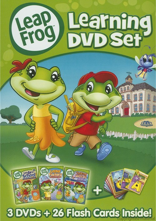 Leap Frog: Learning DVD Set
