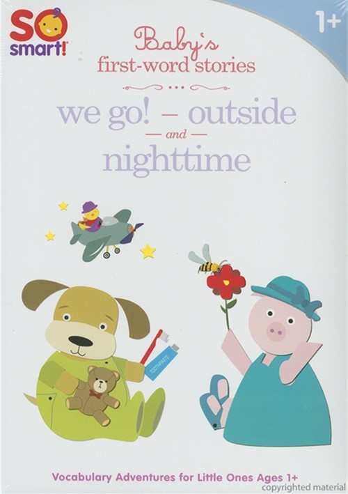 Babys First-Word Stories: We Go, Outside, And Nighttime