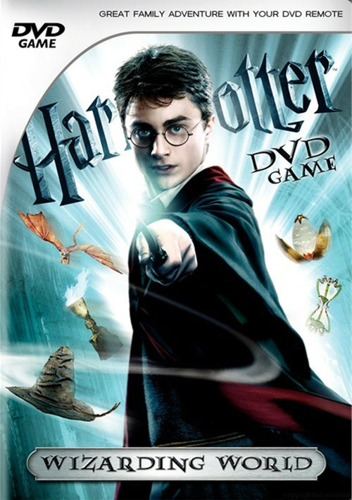 Harry Potter Interactive DVD Game: Wizarding World