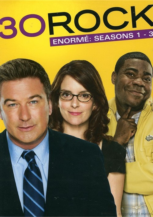 30 Rock: Enorme - Seasons 1 - 3