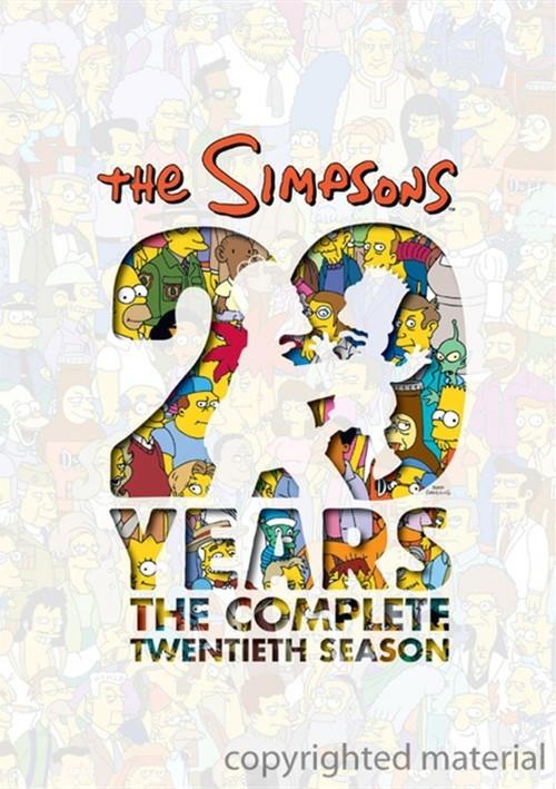 Simpsons, The: The Complete Twentieth Season