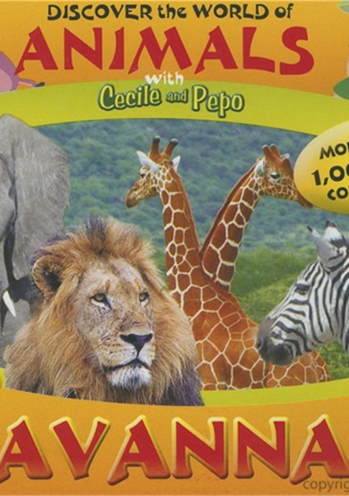 Discover The World Of Animals With Cecile And Pepo: Savannah