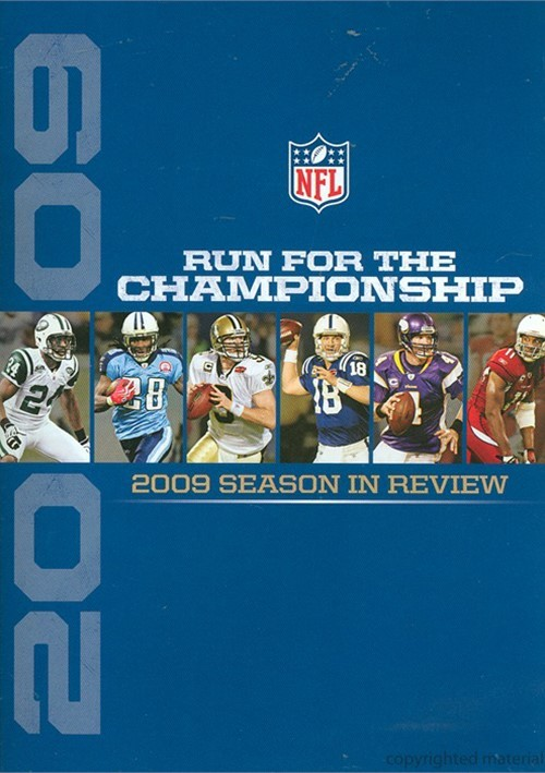 NFL Run For The Championship 2009 - Season In Review