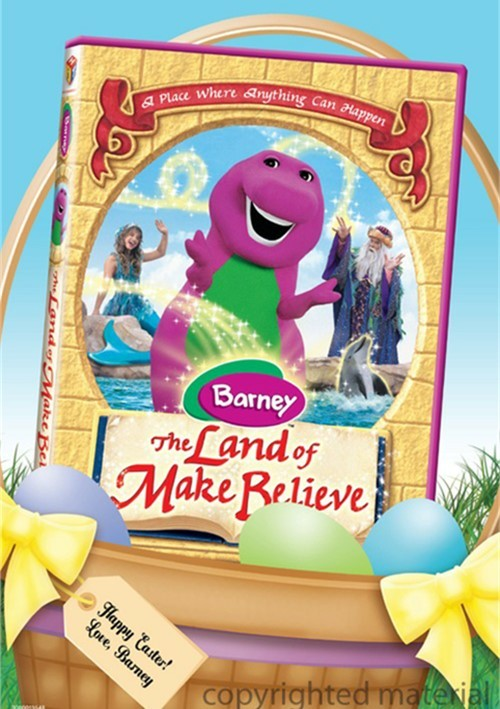 Barney: The Land Of Make Believe - Easter Basket Faceplate
