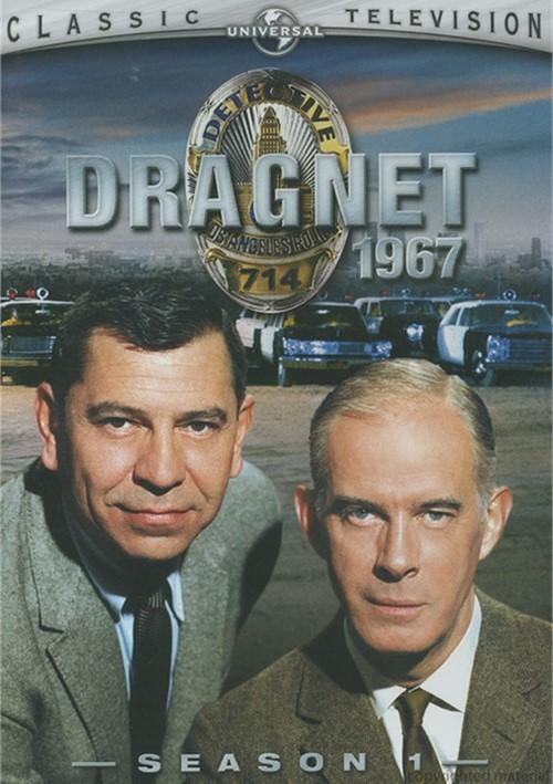 Dragnet 1967: Season 1 (Repackaged)