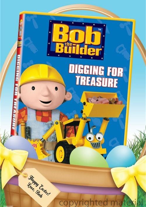 Bob The Builder: Digging For Treasure - Easter Basket Faceplate