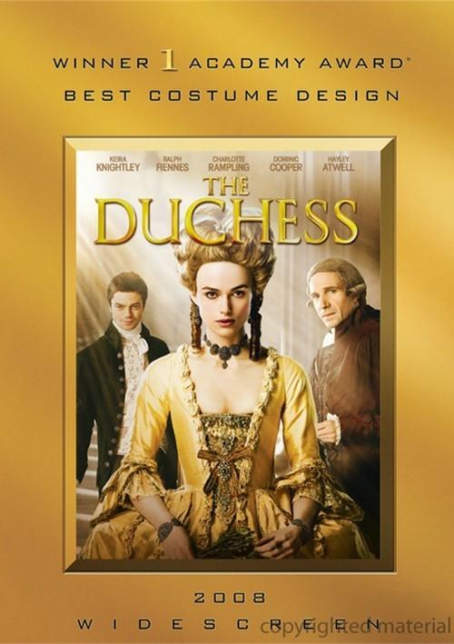 Duchess, The (Academy Awards O-Sleeve)