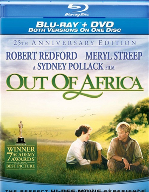 Out Of Africa: 25th Anniversary Edition (DVD & Blu-ray Combo)