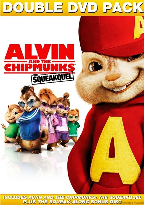 Alvin And The Chipmunks: The Squeakquel (Double DVD Pack)