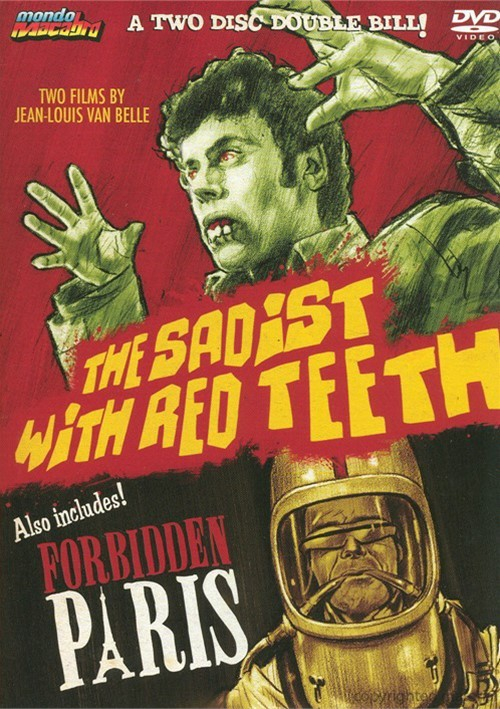 Sadist With Red Teeth, The / Forbidden Paris (Double Feature)