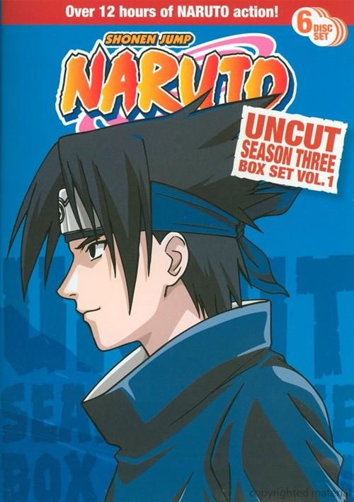 Naruto: Season 3 - Volume 1 (Uncut)