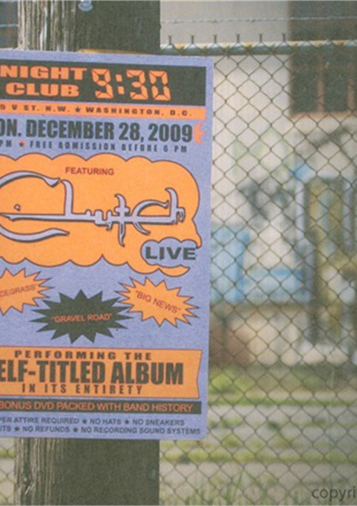 Clutch: Live At The 9:30