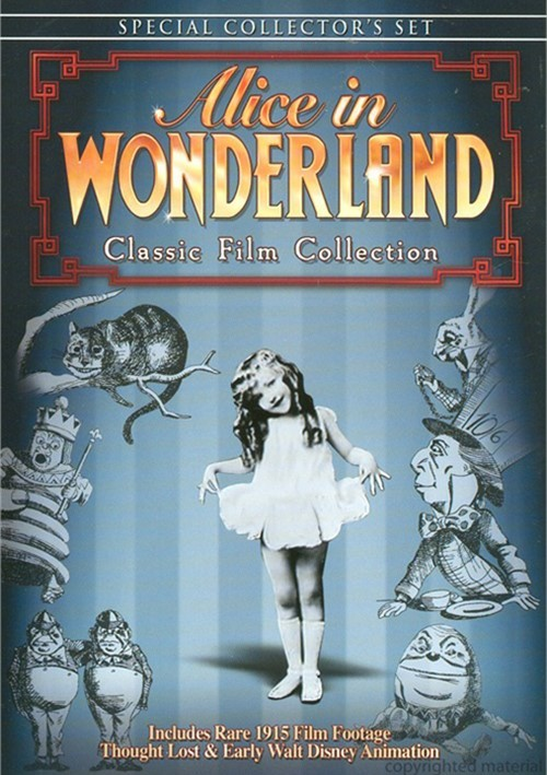 Alice In Wonderland: Classic Film Collection