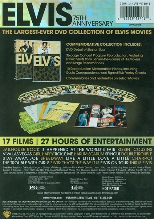 Elvis: 75th Anniversary DVD Collection (DVD 2010)