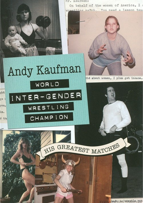 Andy Kaufman Vs. The Wrestling Woman