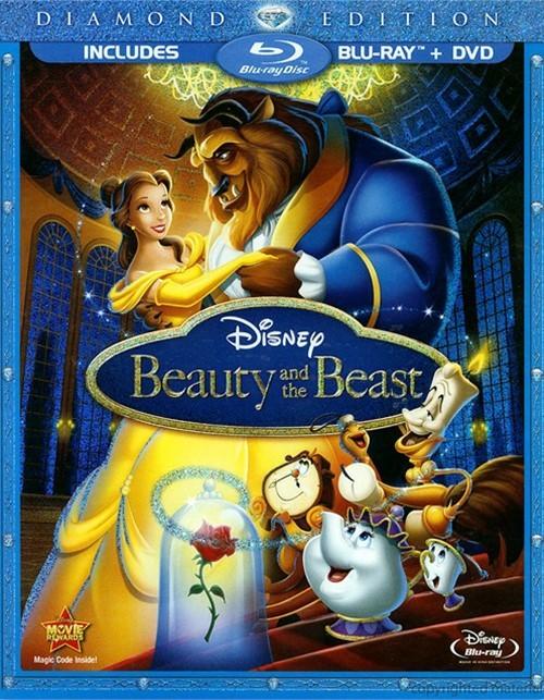 Beauty And The Beast: Diamond Edition (Blu-ray Case)