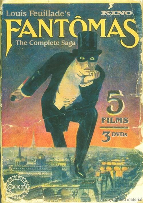 Fantomas: The Complete Saga