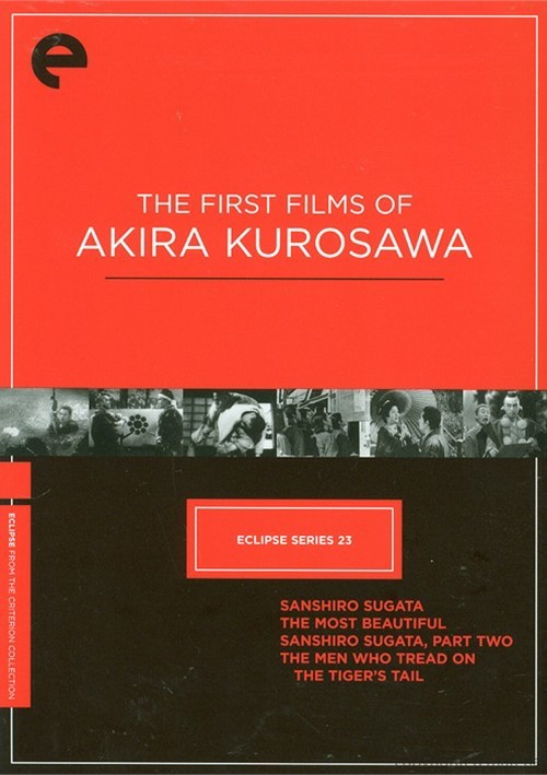 First Four Films Of Akira Kurosawa, The: Eclipse From The Criterion Collection