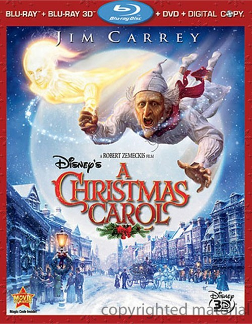 Christmas Carol, A (Blu-ray 3D + Blu-ray + DVD + Digital Copy)