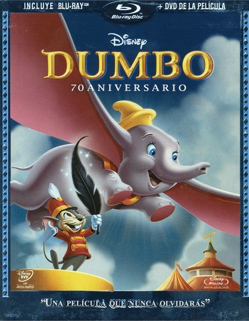 Dumbo: 70th Anniversary Edition (Blu-ray & DVD Combo) (MEXICAN IMPORT)