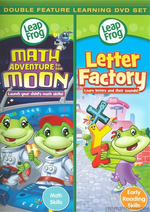 Leap Frog: Math Adventure To The Moon / Letter Factory (Double Feature)