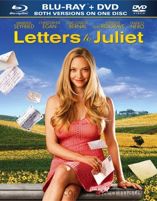 Letters To Juliet (Blu-ray + DVD Combo)