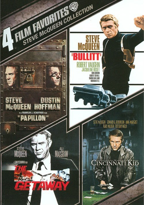 4 Film Favorites: Steve McQueen Collection