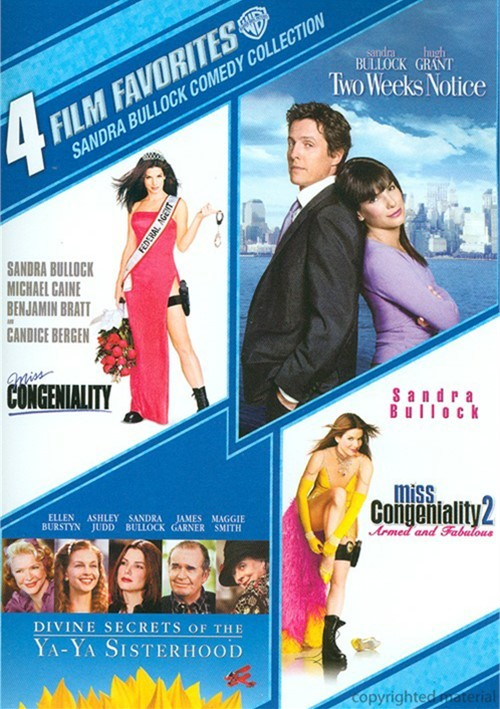 4 Film Favorites: Sandra Bullock Comedy Collection