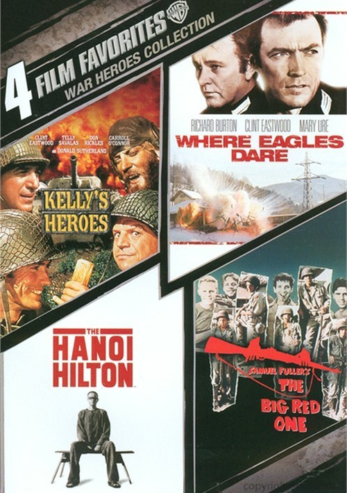 4 Film Favorites: War Heroes Collection