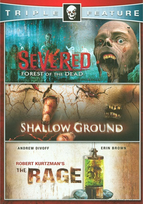 Severed: Forest Of The Dead / Shallow Ground / The Rage (Horror Triple Feature)