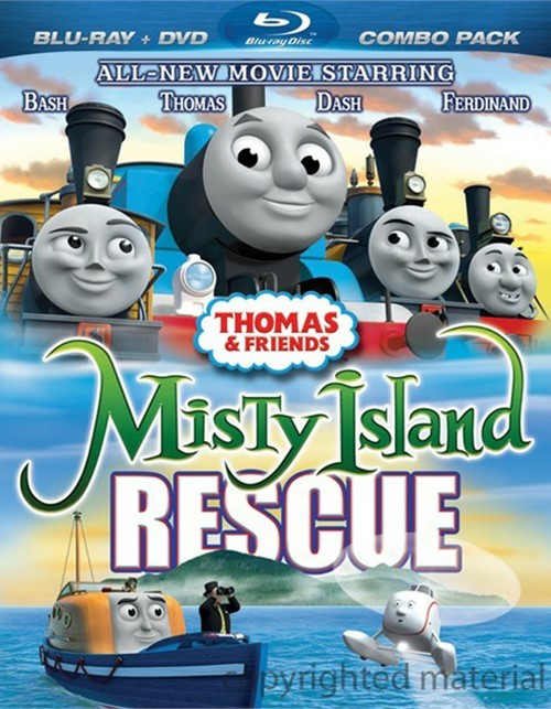 Thomas & Friends: Misty Island Rescue (Blu-ray + DVD Combo)