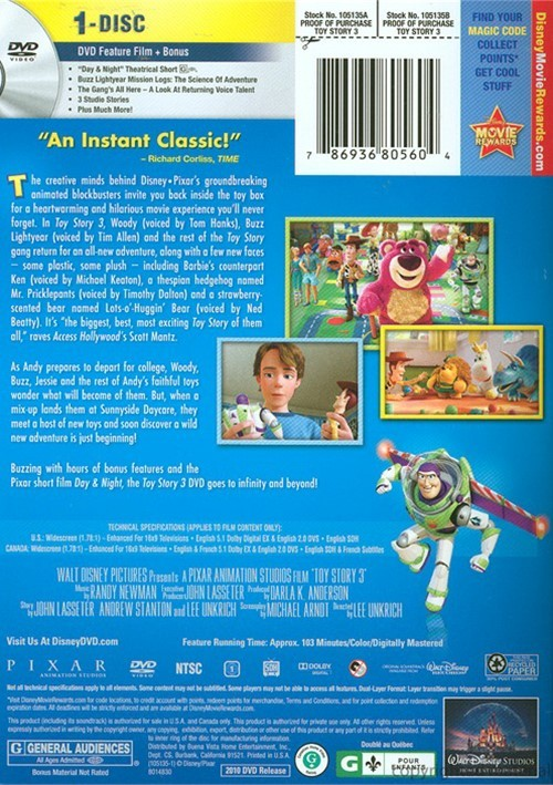Toy Story 3 - Movie DVD Custom Covers - Toy Story 3 2010 ...  Toy Story 3 2010 Dvd
