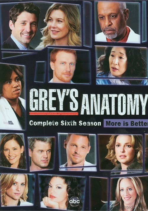 Greys Anatomy: Complete Season Six - More Is Better