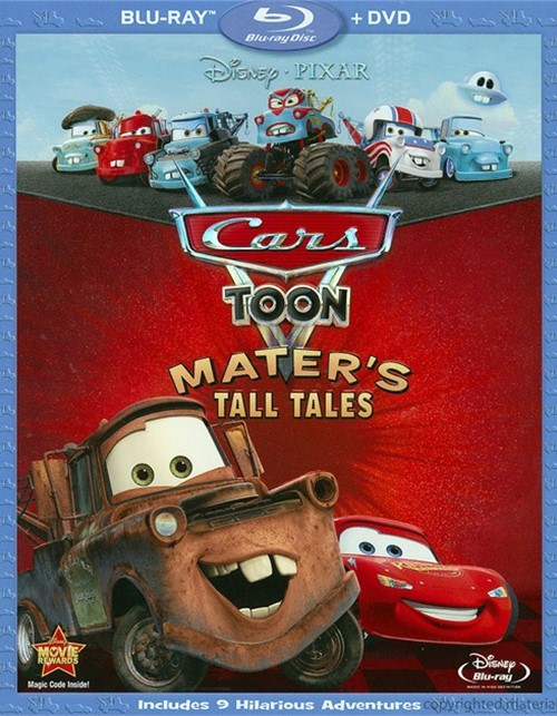 Cars Toon: Maters Tall Tales (Blu-ray + DVD Combo)