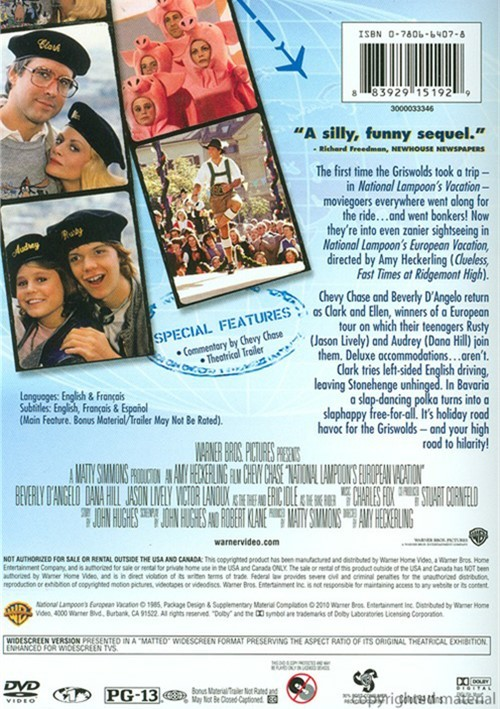 National Lampoon's European Vacation (DVD 1985)
