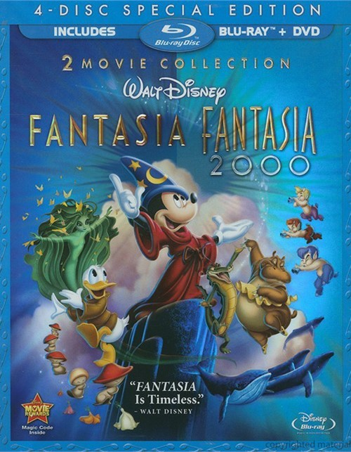 Fantasia / Fantasia 2000: 2 Movie Collection - 4 Disc Special Edition