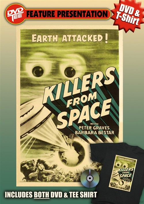 Killers From Space DVDTee (Large)