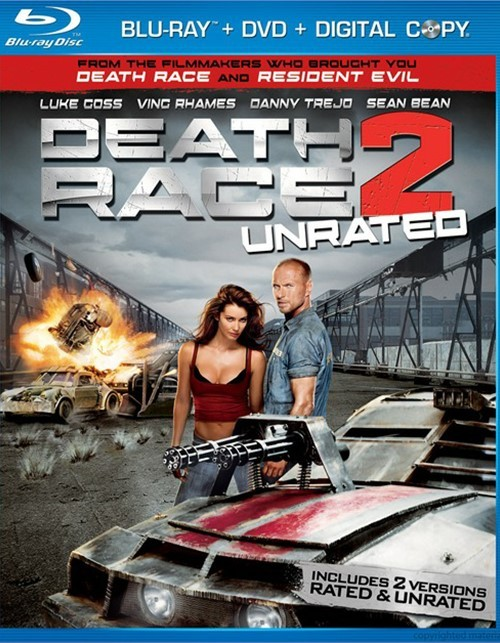 Death Race 2 (Blu-ray + DVD Combo)