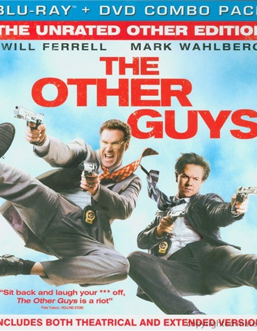 Other Guys, The: The Unrated Other Edition (Blu-ray + DVD Combo)