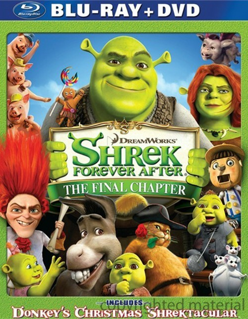 Shrek Forever After (Blu-ray + DVD Combo)