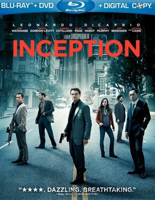 Inception (Blu-ray + DVD + Digital Copy)