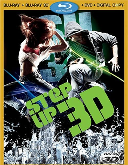 Step Up 3D (Blu-ray 3D + Blu-ray + DVD + Digital Copy)