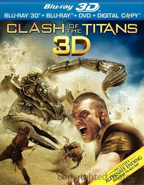 Clash Of The Titans 3D (Blu-ray 3D + Blu-ray + DVD + Digital Copy)