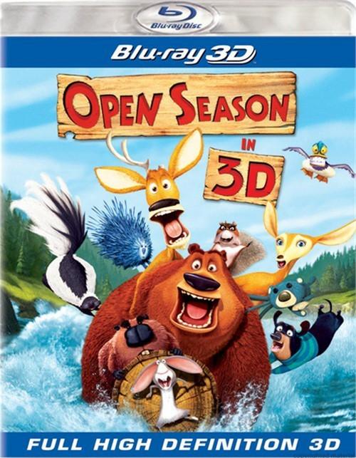 Open Season In 3D (Blu-ray 3D)
