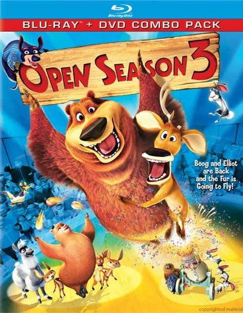 Open Season 3 (Blu-ray + DVD Combo)