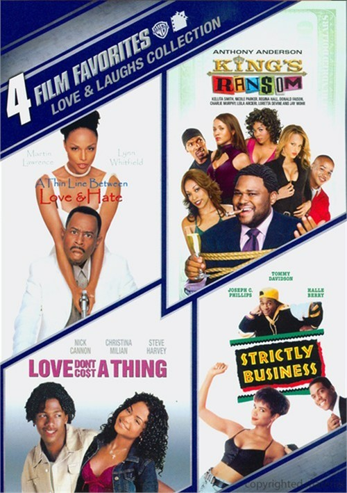 4 Film Favorites: Love & Laughs Collection