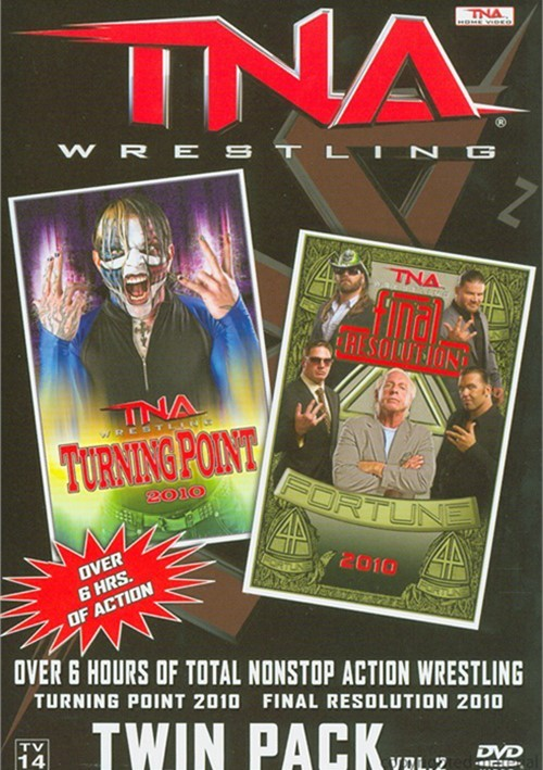 Total Nonstop Action Wrestling: Turning Point / Final Resolution 2010 Twin Pack