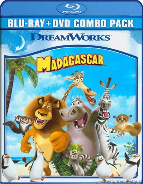 Madagascar (Blu-ray + DVD Combo)